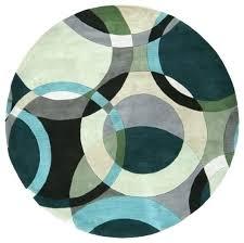 green circle rug round teal rug circle rug circular middle eastern fl rug by main 6