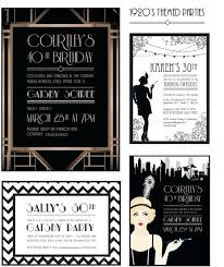 bon invitation soiree darty et gatsby style 1920s party invites designed by prettyinprintme 59 96