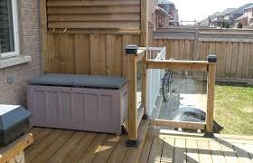 deck railings flex fence louver system