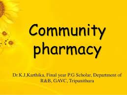 Organizational Chart Of A Drugstore Community Pharmacy