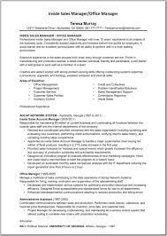 Sales Representative Resume Objective Free Resume Example And