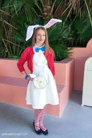 no sew alice in wonderland costume ideas types of rabbit costume