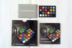 Gretagmacbeth Colorchecker Chart Colorchecker Charts