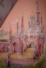 castle wall mural for kids bedroom