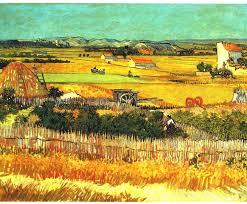 impressionism painting farm view by sumit mehndiratta