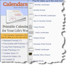 Calendarsthatwork Com Monthly Cybertext Newsletter The Official Blog Of Cybertext