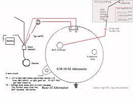 l 3 wire alternator diagram l wiring diagrams cars 2 wire alternator wiring diagram wiring diagram