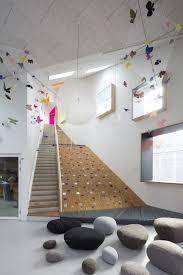 Interior Design Certificates Interesting Ama'r Children's Culture House Dorte Mandrup Climbing Pebbles