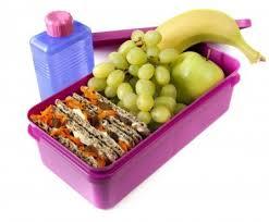 Gezonde lunch voor op school