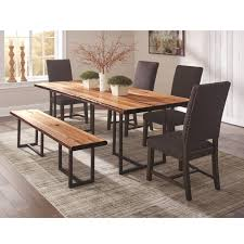 grey dining room furniture. Coaster Suthers 5pc Grey Dining Table Set Room Furniture B
