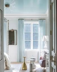 Inspirational Dc Design House Bedroom By Anthony Wilder Interiors Gloss Or  Of 25 Inspirational Blue Curtains