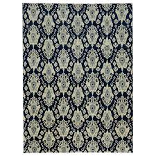 navy blue ikat rug new modern transitional area for x org l navy and white ikat rug