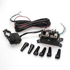 atv winch wiring 12v atv utv solenoid relay contactor winch rocker thumb switch wiring combo wi