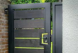 modern metal gate. Modern Wood Gate Design And Fence Designs  Latest Gates For Hardware Modern Metal Gate