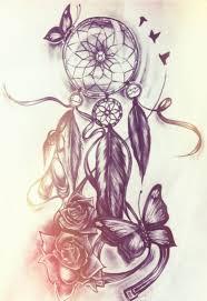 Dream Catcher Butterfly Tattoo Dream catcher and butterfly tattoo Tattoos⚓️Piercings 1