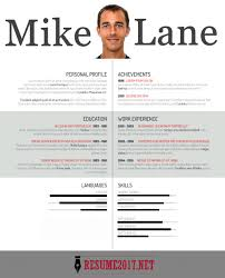 Creative Resume Template Fascinating 48 Resume Templates 4817 To WIN