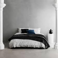 l mhome black white stripe loft