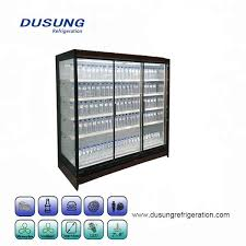 commercial refrigerator showcase