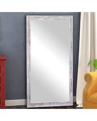White full length mirror Wall Mounted Yelton Full Length Mirror Size 70 People Cant Miss Deals On Yelton Full Length Mirror Size 70