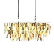 chandeliers west elm capiz chandelier rectangular large hanging
