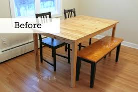diy kitchen table concrete dining table top and dining set makeover the crazy beautiful kitchen table
