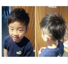 黒髪 子供 パーマ 坊主hair Mission 渡海 典子 83071hair