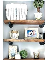 industrial wall shelf with hooks wood metal wall shelves reclaimed wood and metal wall shelves classier