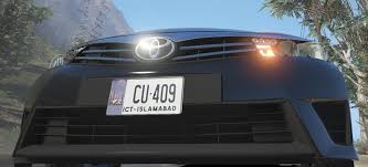Car Number Plate Design In Pakistan Pakistan License Plates Gta5 Mods Com