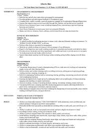Amazing Room Attendant Resume Samples Illustration Examples