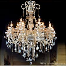 led crystal light fixtures for the living room wrought iron candle chandeliers lighting crystal led lamp bedroom bar dining room chandelier