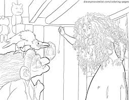 Disney S Brave Coloring Pages Sheet