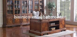 classic home office desk. Noble Classic Home Office Furniture, Vintage Wooden Executive Desk, Exquisite Wood Veneer Inlaid Desk