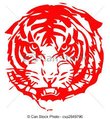 chinese tiger clipart. Simple Chinese Chinese Zodiac Of Tiger  Csp2849796 In Tiger Clipart R