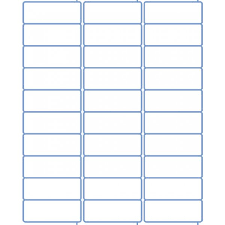 avery 1 x 2 5 8 template 30 label template printable label templates