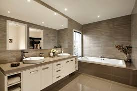 beautiful cream bathroom decoration using light brown caesar stone bathroom vanity tops including brown ceramic tile bathtub surround and small round