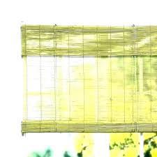 er bamboo roller blinds outdoor roll up homebase white