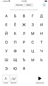 Learn Russian Alphabet By Kalyan Namburi