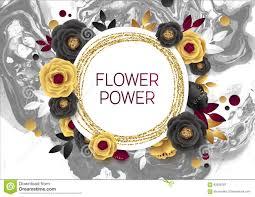 Design Folie Marble Rose Flower Poster Design Grey Marble Texture Card Skimra