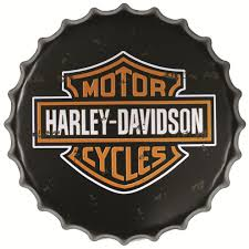 Harley Davidson Signs Decor Harley Davidson Cycles Round Signs Beer Bottle Cap Tin Signs 42