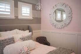 Pink And Grey Girls Bedroom Furniture Wood Headboards Sweet Girl Bedroom Fabric Upholstered