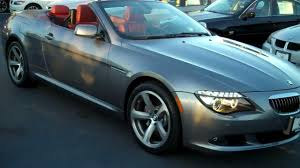 2010 BMW 650i Convertible Sport Navigation @ Manheim Imports - YouTube