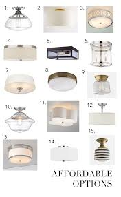 best  flush mount lighting ideas on pinterest  hallway light