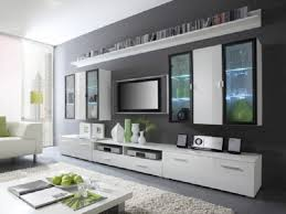 Modern Tv Units For Bedroom Home Accecories Bedrooms Varnished Wood Wall Hidden Bed With