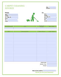 Cleaning Service Templates Carpet Installation Invoice Template Or Top Result Free Templates