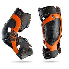 Asterisk Ultra Cell Knee Brace Protection System Orange