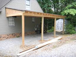 Lifestyle Carport Application From Carport To Screened Room Attached Carport Designs