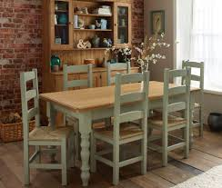 grey room chair inspiration ideas decor colonial home amusing painted oak dining table and chairs 15 cream color sets off white leather room