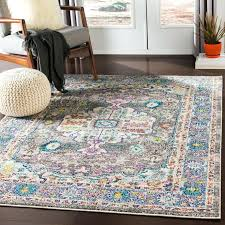 charcoal multi color vintage distressed area rug rugs 8x10
