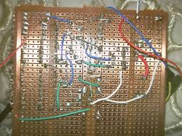 diy led tachomter rpm gauge 4 steps picture of testing the circuit