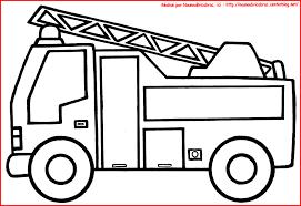 Camion De Pompier Colorier Dessin Camion De Pompier